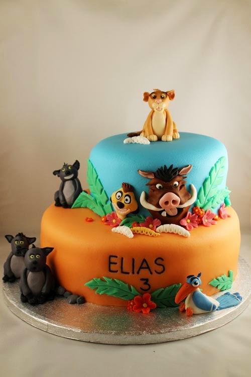 Lejonkungen tårta