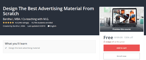تصميم أفضل المواد الإعلانية  بإحترافيه من الصفر
