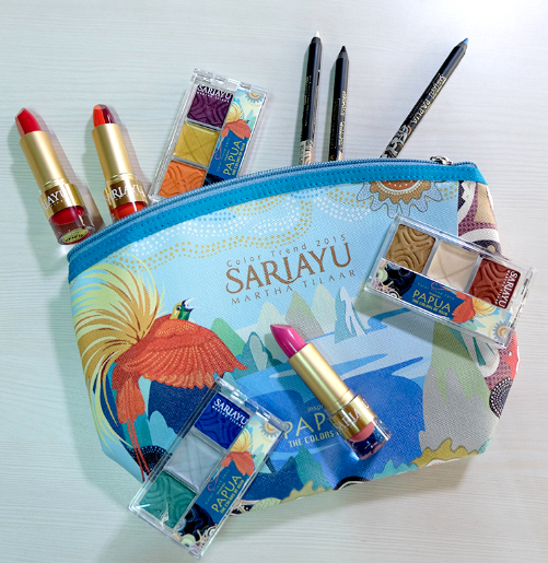 Kandungan Alami EyeShadow Sariayu Trend Warna Papua