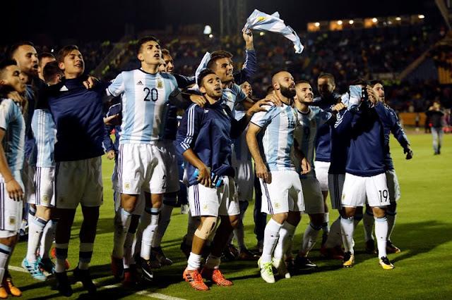 ARGENTINA AKHIRNYA MEMASTIKAN DIRI LOLOS KE PUTARAN SELANJUTNYA PIALA DUNIA 2018