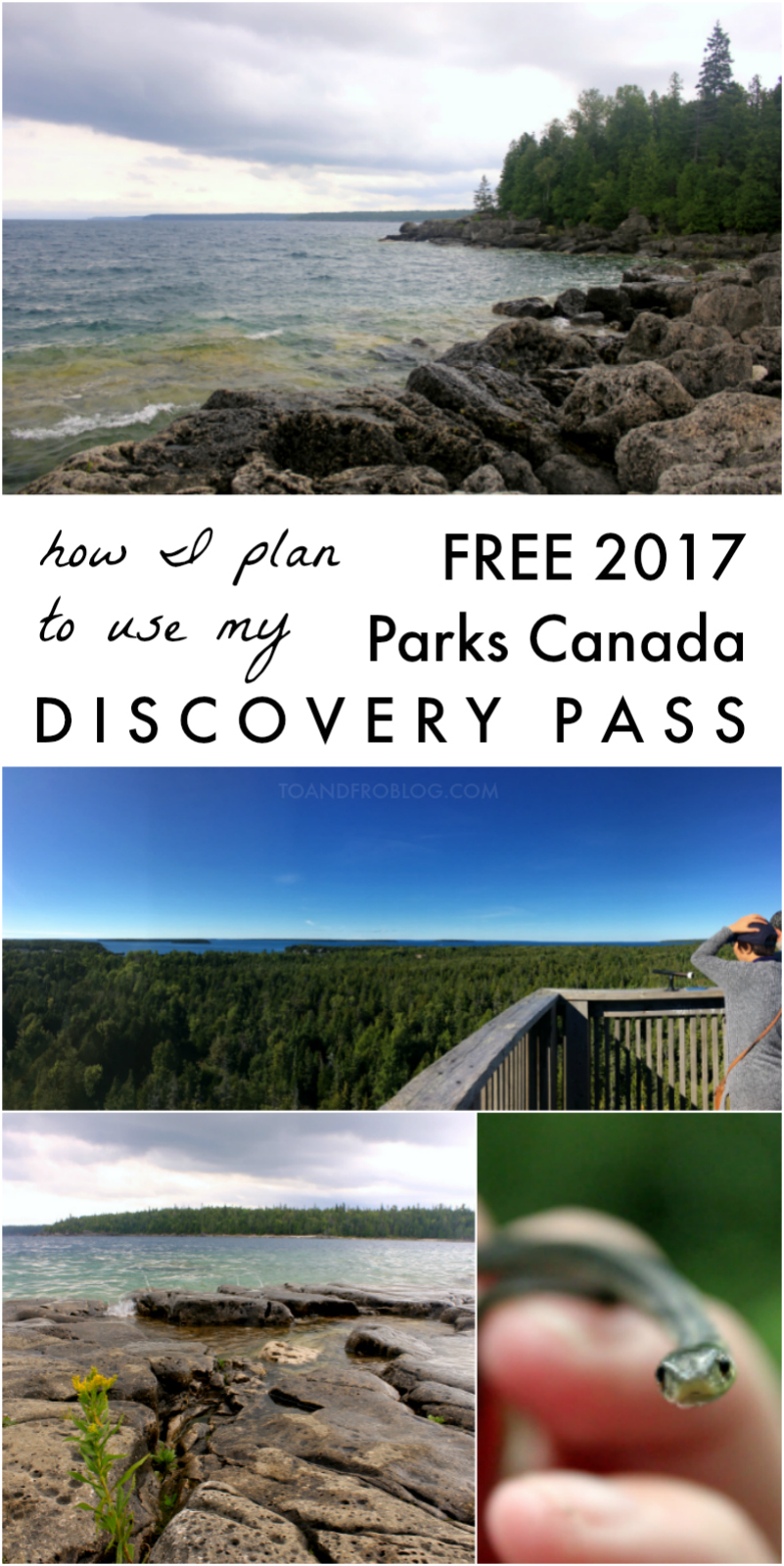 How I Plan to Use My Free 2017 Parks Canada Discovery Pass - Bruce Peninsula National Park