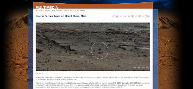 NASA Curiosity Levitating Sphere - NASA Website