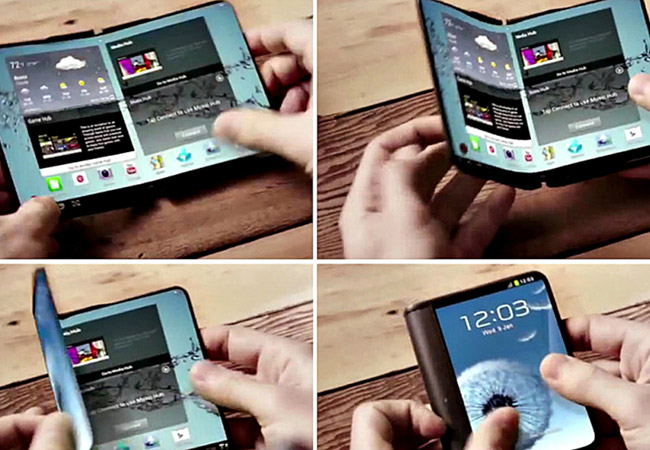 Tinuku Samsung confirms in-folding foldable phone with extra display outside