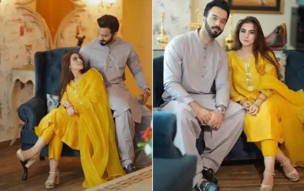 Aima Baig Sister Komal Baig Shares Photos with Husband