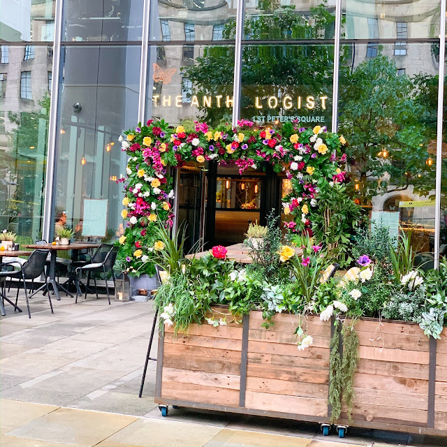 The Anthologist St Peters Square Manchester
