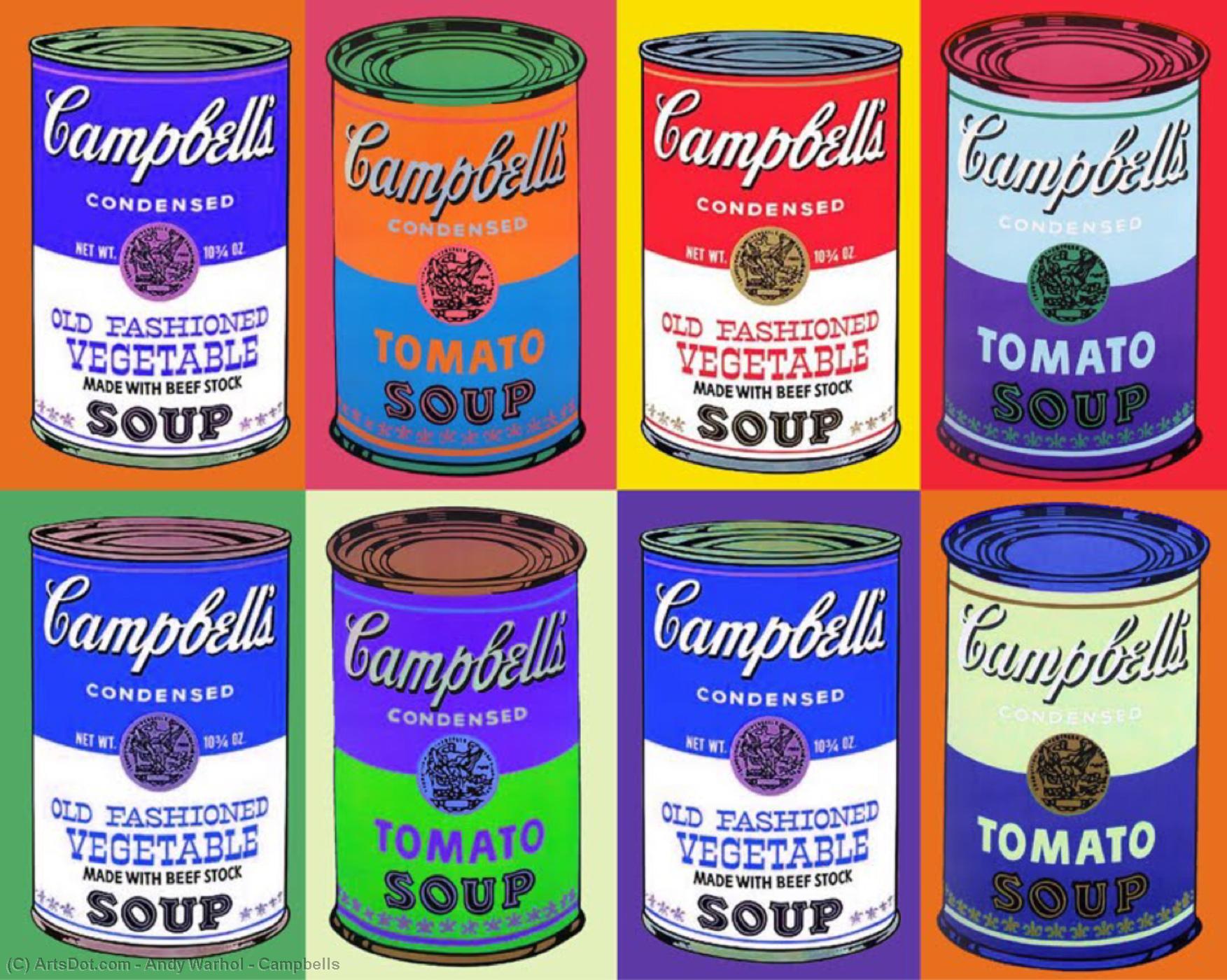 Andy Warhol- Campbells