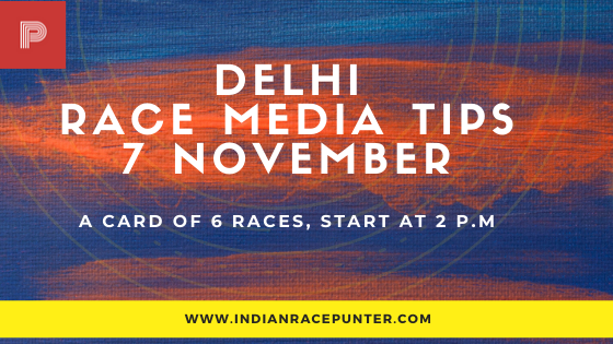 Delhi Race Media Tips 7 November