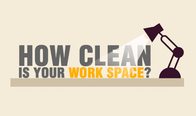 How Clean Is Your Work Space?