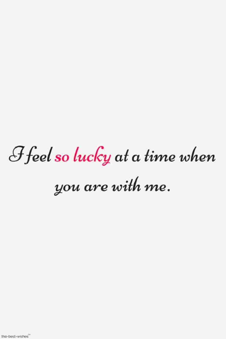 short love verses image so lucky