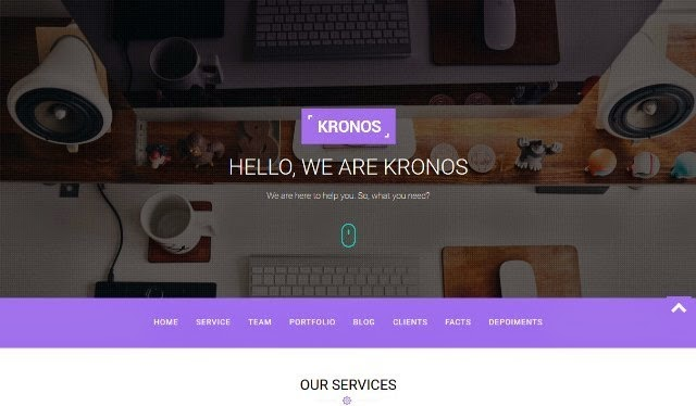 Kronos - Html5 Business Template
