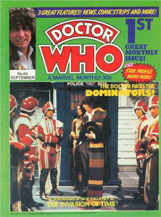 Doctor Who Monthly #44, the Invasion of Time