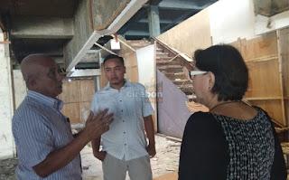 Dewan Dibuat Bingung PT. Metro Terkait Perbaikan Pasar Balong