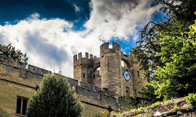 The medieval Warwick Castle was designed by William the Conqueror himself. Photo: ShelbyPoppit.
