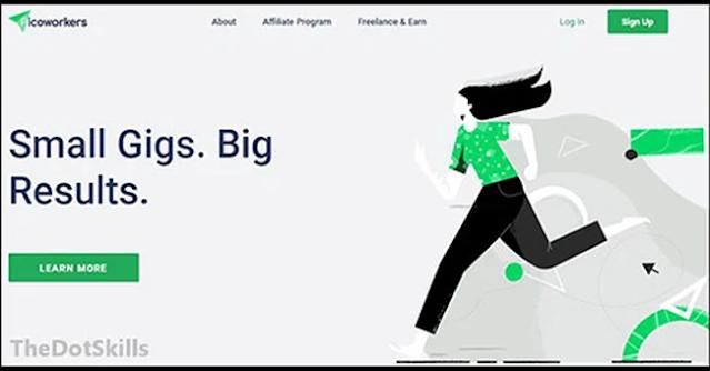 Comment travaillez à domicile et gagnez de l'argent avec le site Picoworkers?