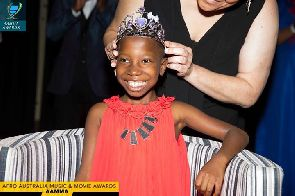 Australian Government crowns Emmanuella Princess of comedy