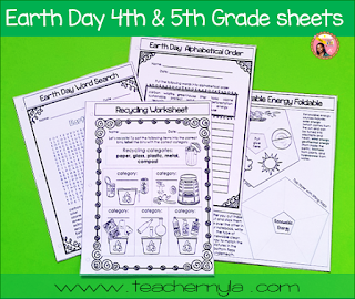 Earth Day Worksheets 5rd Grade