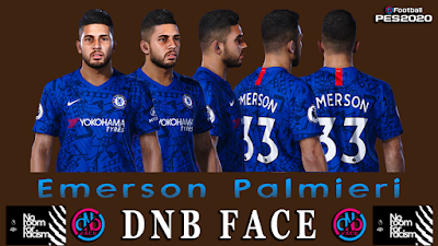 PES 2020 Faces Emerson Palmieri by DNB