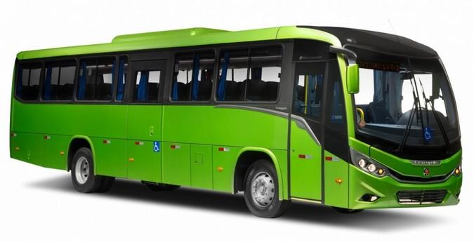 Marcopolo apresenta novo ônibus para operações de fretamento