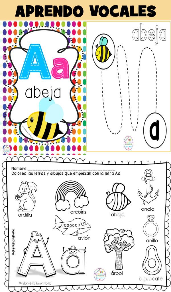 fichas-aprender-vocales-inicial-preescolar