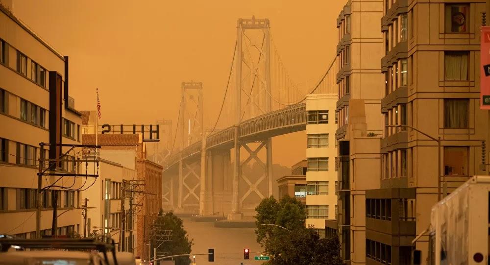 فرض حظر التجول في سان فرانسيسكو الأمريكية
