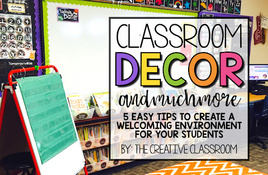Classroom Decor and Much More