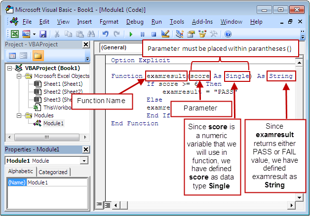 how to write sql function on excel data