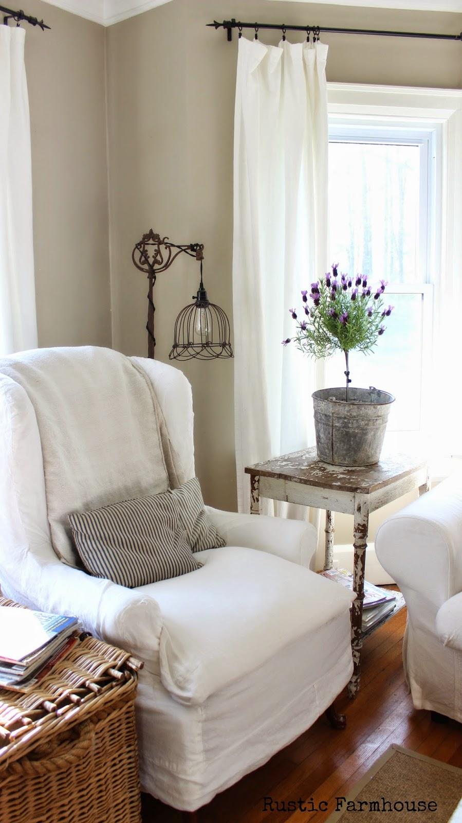 Rustic Farmhouse: Happy Mother's Day! on Farmhouse Living Room Curtain Ideas  id=35690