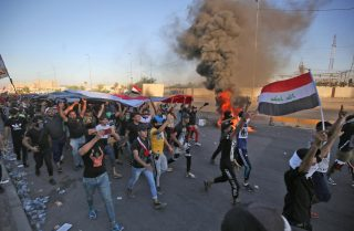 demo warga iraq