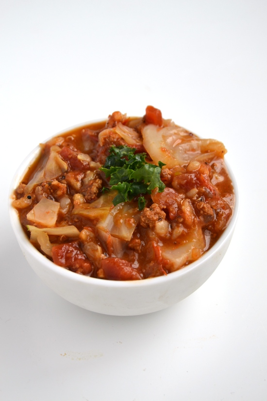 This stuffed cabbage soup is very simple to make, is nutritious and full of flavor. Make a big pot for the week ahead for quick and easy meals. www.nutritionistreviews.com