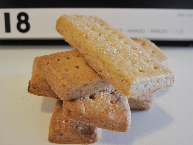 Gourmandises Homecooked Biscuits Shortbread A La Poudre D Amandes