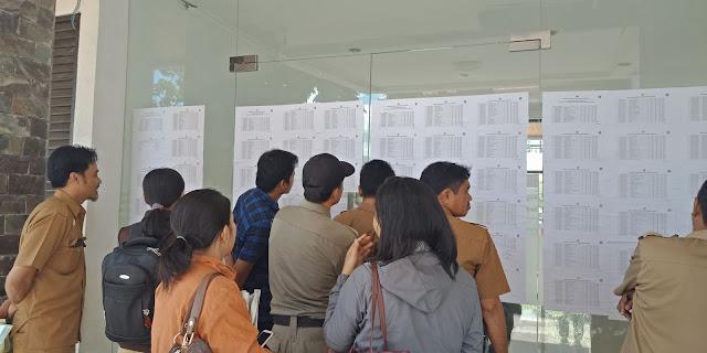 Hanya Dua Peserta K2 Tana Toraja yang Lulus Passing Grade SKD CPNS 2018
