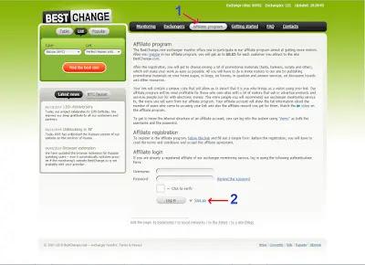 التسجيل في bestchange