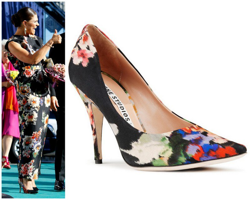 Crown Princess Victoria and Acne Shoes