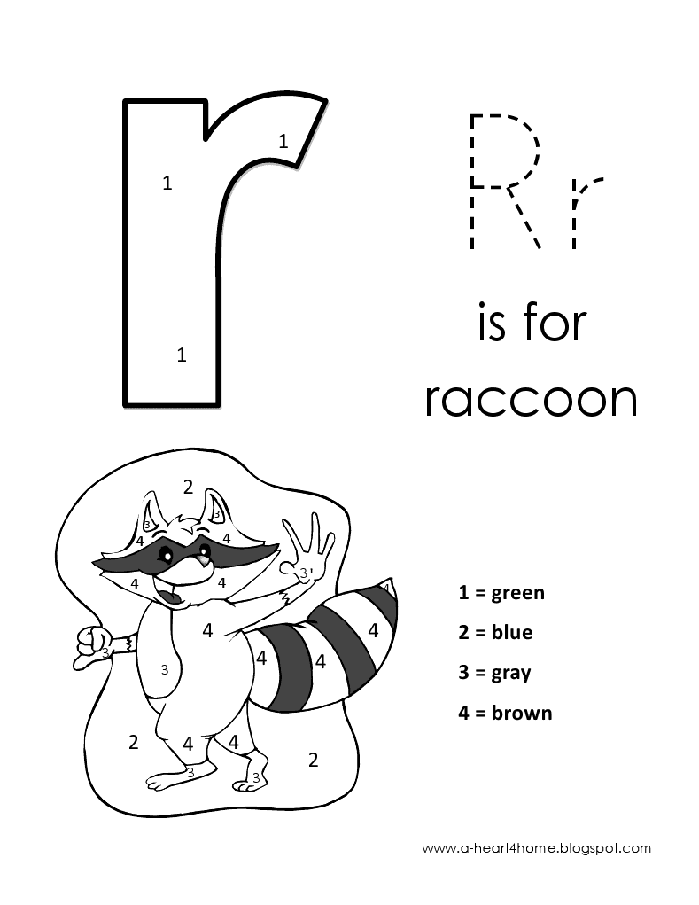 It doesn't matter if they can't yet read it, they can still color in the shapes and gradually familiarize themselves with the letters and words, this helps with further learning later on. Kids Page Alphabet Letter R Lowercase Coloring Pages