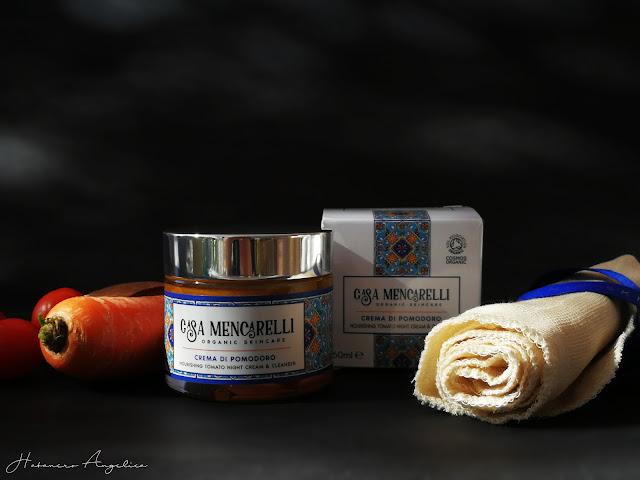 crema di pomodoro per il viso