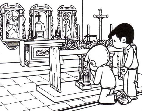 Educar con Jesús: Siempre hay razones para orar