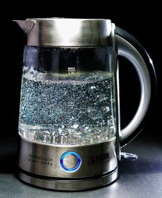 Minum air hangat rebusan