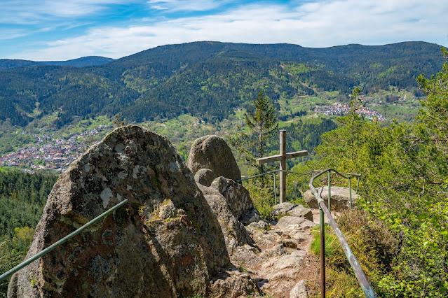 Premiumwanderweg Murgleiter | Etappe 2 von Gernsbach nach Forbach | Wandern nördlicher Schwarzwald 24