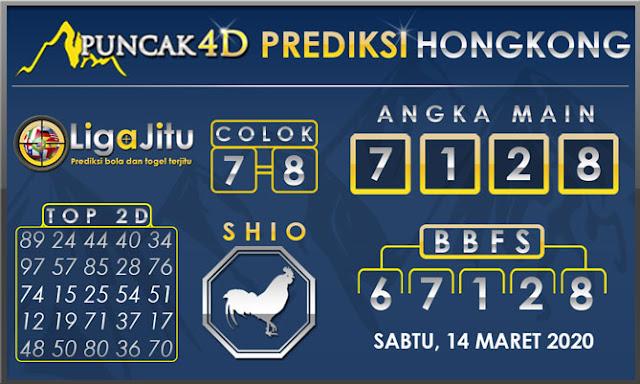 PREDIKSI TOGEL HONGKONG PUNCAK4D 14 MARET 2020