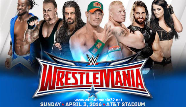 WrestleMania 32 Location, Time and Date