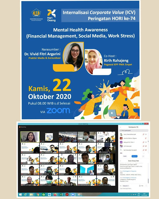 vivid f argarini KPP PMA IV mental health awareness