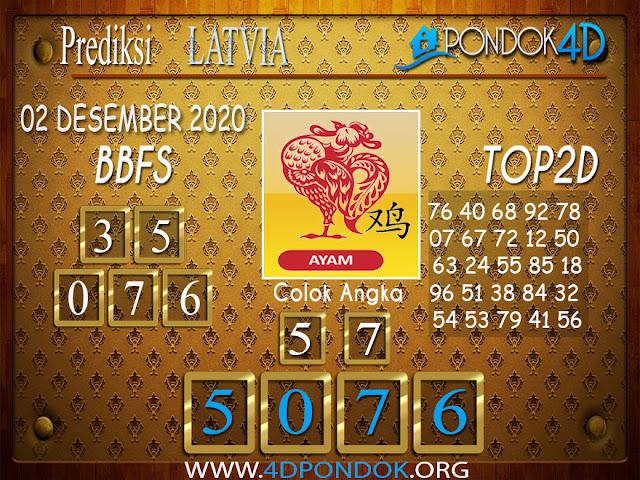 Prediksi Togel LATVIA PONDOK4D 02 DESEMBER 2020