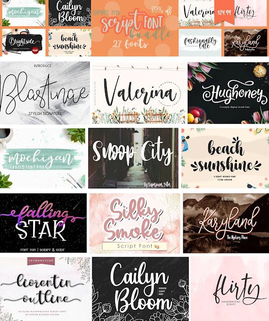 Silhouette SVG, Silhouette fonts, Cricut fonts, Commercial use SVG, Silhouette cut files,