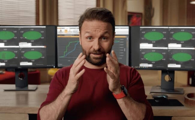 Learn poker from Daniel Negreanu