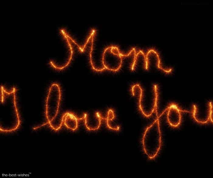 mom i love you photo