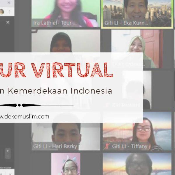 17-an Tur Virtual, Cara Lain Rayakan Kemerdekaan Indonesia