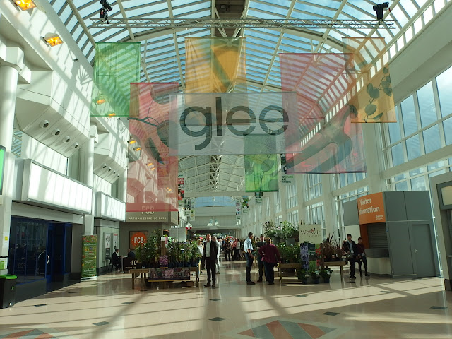 The atrium plants area at GLEE