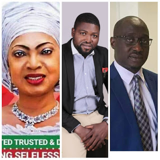 COMR EMALUJI CONGRATULATES SEN ROSE OKO AND HON JARIGBE AGOM ON THEIR VICTORIES AT THE POLLS