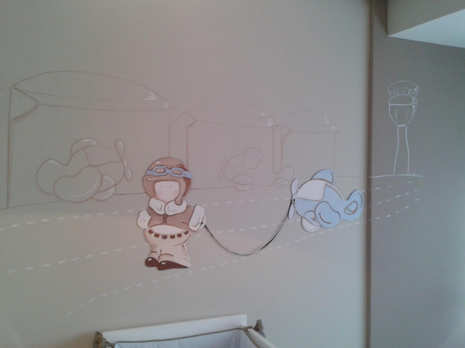 peinture murale pour chambre garcon avec des id es int ressantes pour la. Black Bedroom Furniture Sets. Home Design Ideas