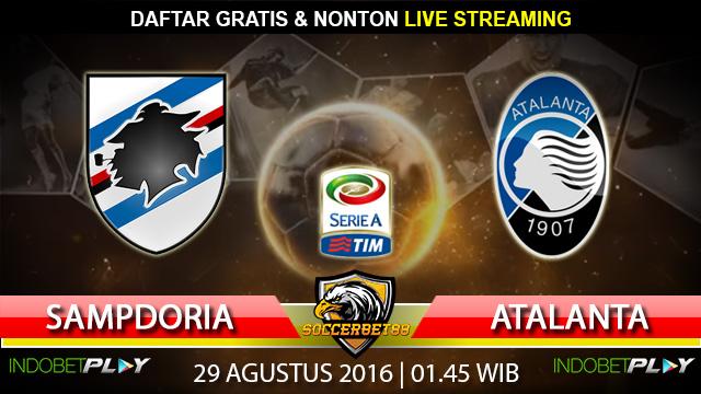 Prediksi Sampdoria vs Atalanta 29 Agustus 2016 (Liga Italia)